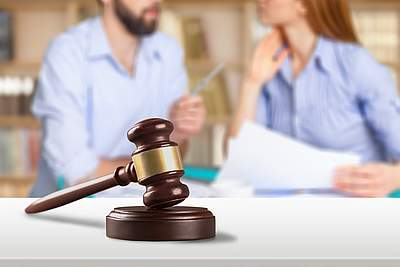 Gerichtsverhandlung zur Mietminderung bei Schimmelbefall