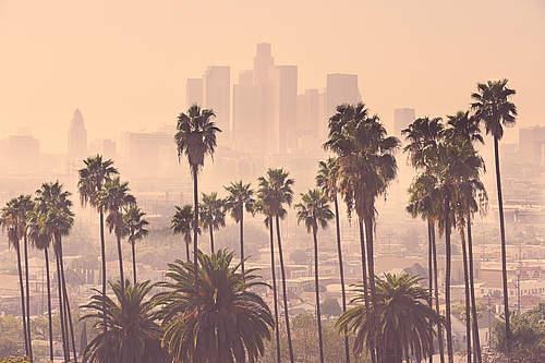 Sommersmog und Luftverschmutzung in Los Angeles