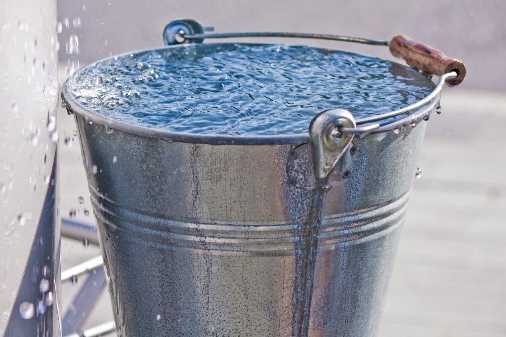Wasserdampfmenge im einer Familie