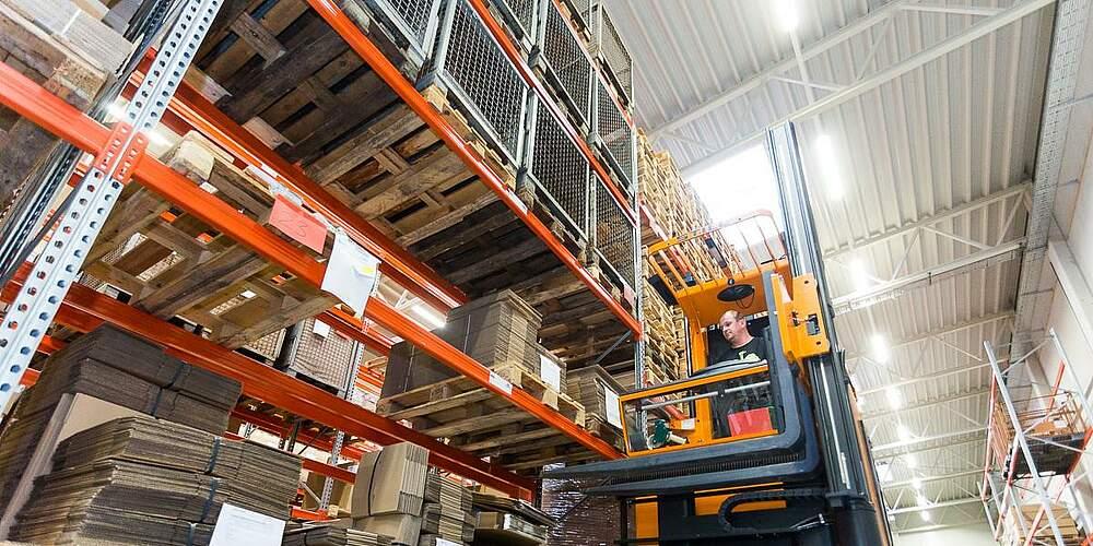 Zentrale Lüftung geeignet für Werkhallen