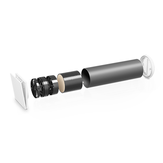 inVENTer-Basislüfter iV-Light Explosionsansicht