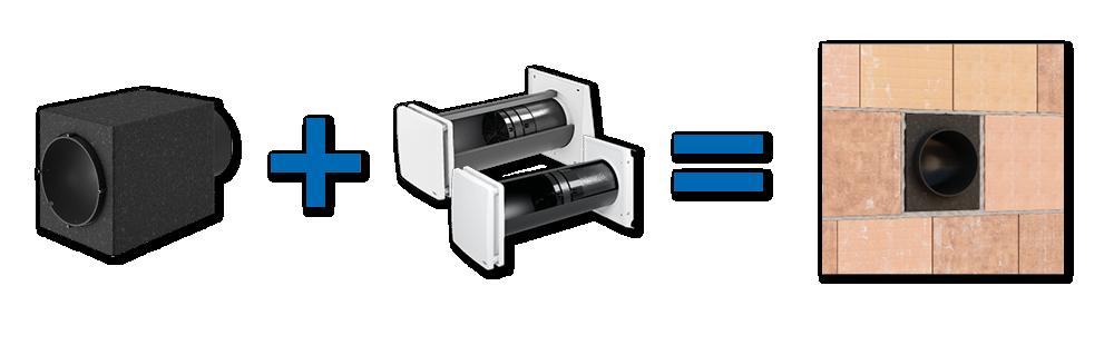 Noch einfacher Einbau aller Neuprodukte mit Simplex-Montagesystem