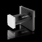 inVENTer-Lüftungssystem iV14-Zero Corner für die Fensterlaibung Innenansicht