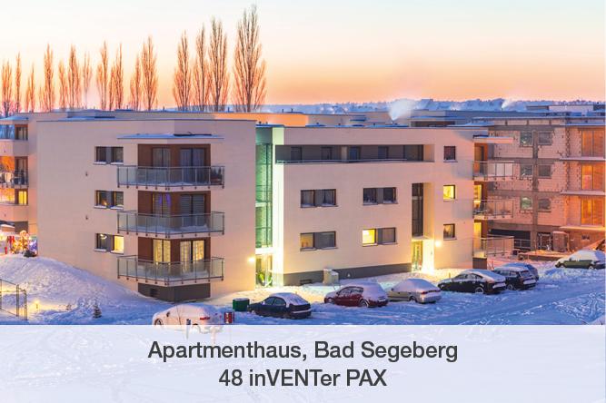 Referenz inVENTer PAX Apartmenthaus Bad Segeberg