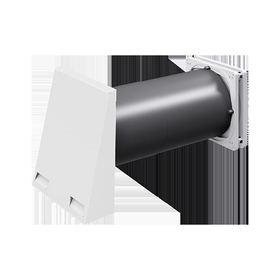 inVENTer-Außenluftdurchlass aV200 ALD Außenansicht