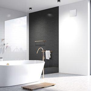 Ohne Wärmerückgewinnung im Bad - Funktion einer kontrollierten Wohnraumlüftung
