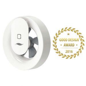 Good Design Award 2016 für Abluftgerät inVENTer Pulsar