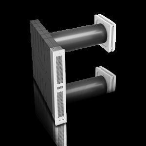 inVENTer-Lüftungssystem iV-Smart+ Corner für die Fensterlaibung Außenansicht